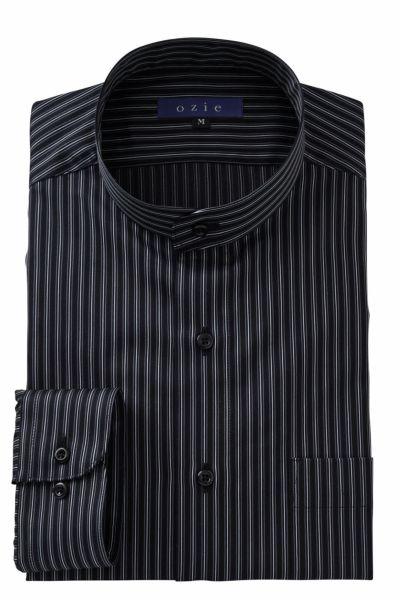 ワイシャツ 8063-A02D-BLACK