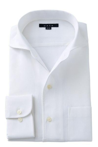 ワイシャツ 8045-A03A-WHITE