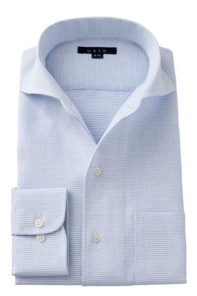 ワイシャツ 8045-A03B-BLUE