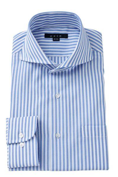 ワイシャツ 8070-A03A-BLUE