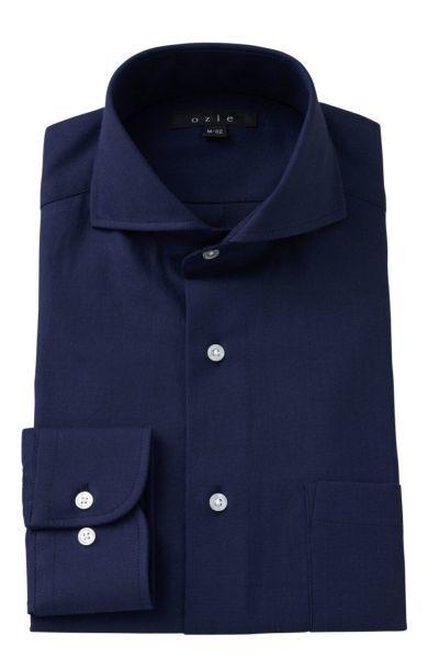 ワイシャツ 8070-A03C-NAVY