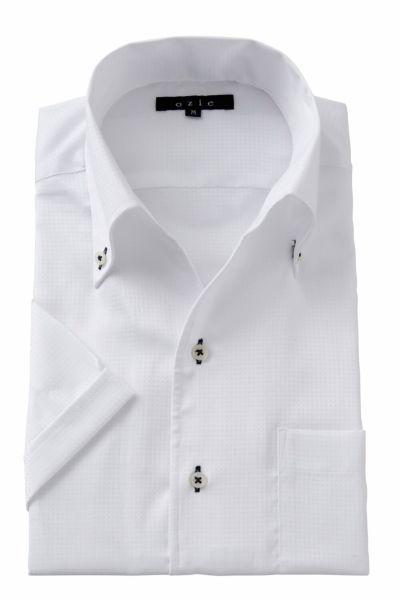 ワイシャツ・カッターシャツ・半袖 8044SS-A04B-WHITE