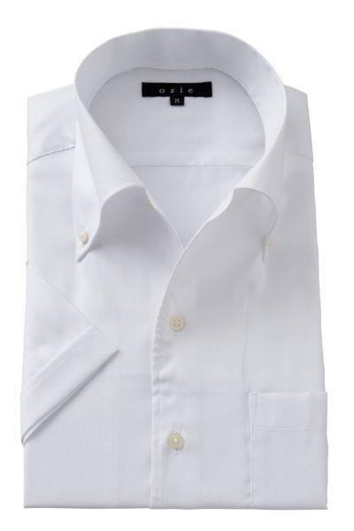 ワイシャツ・カッターシャツ・半袖 8051SS-A04A-WHITE