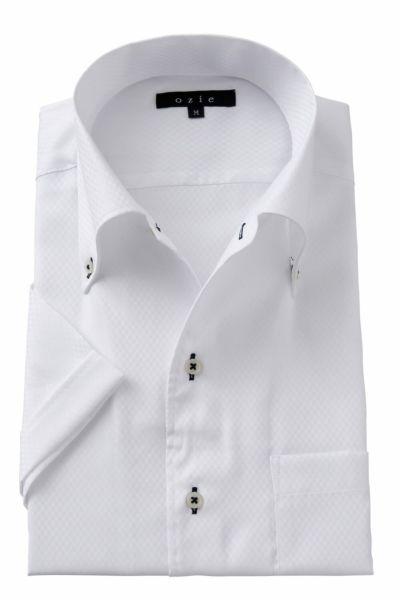 ワイシャツ・カッターシャツ・半袖 8051SS-A04B-WHITE