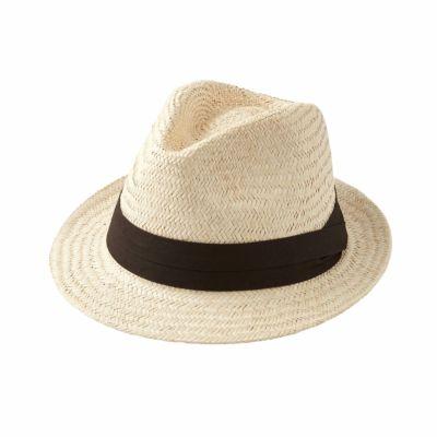 ozie|オジエ 【帽子】パナマハット・中折れハット・ダークブラウン・日本製・HT-N-KEH1943-39-DARKBROWN