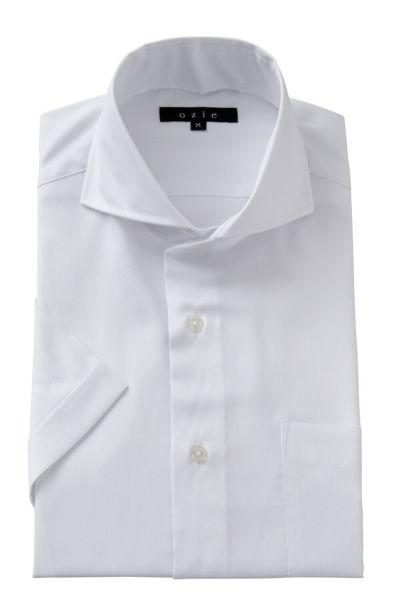 ワイシャツ・カッターシャツ・半袖 8070SS-A04A-WHITE