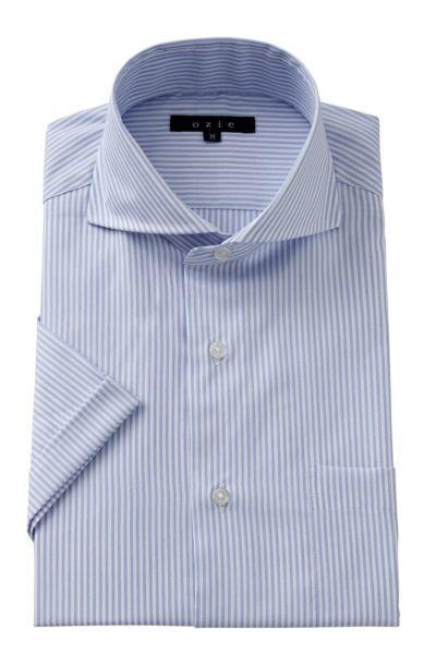 ワイシャツ・カッターシャツ・半袖 8070SS-A04D-BLUE