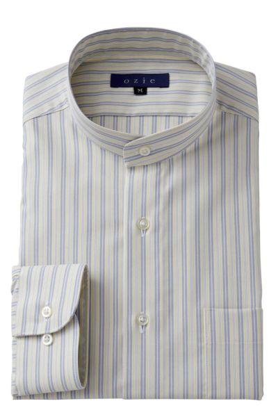 スタンドカラーシャツ マオカラー 8063-A05H-YELLOW