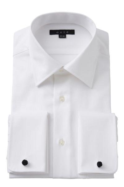 ワイシャツ 8007-A04A-WHITE