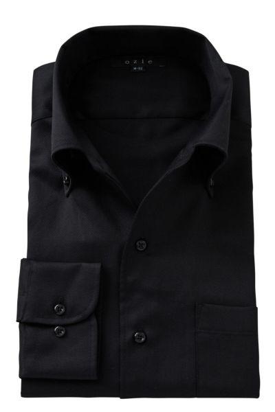 ワイシャツ 8051-A04A-BLACK
