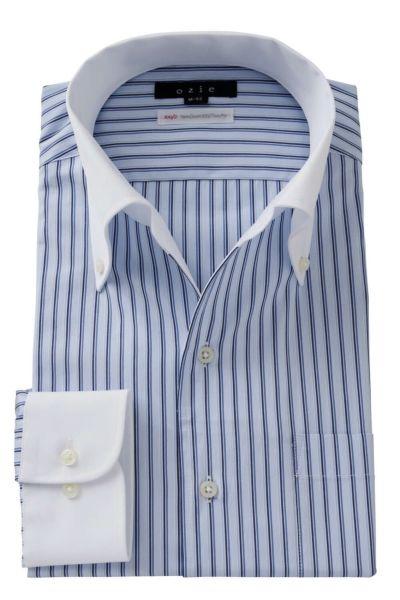 ワイシャツ 8051CL-A05A-BLUE
