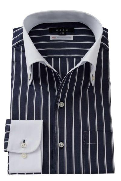 ワイシャツ 8051CL-A05B-NAVY