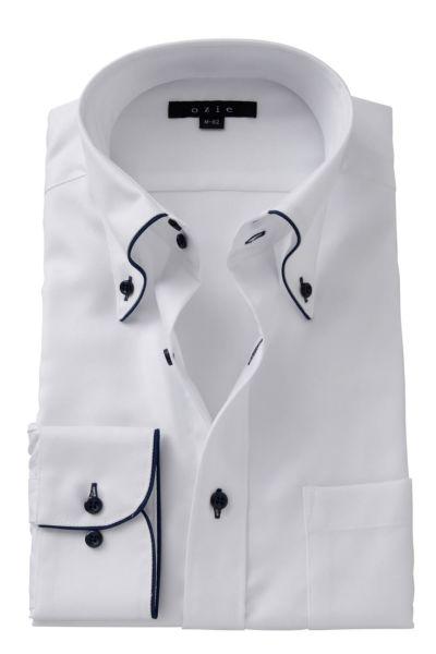 ワイシャツ 8065EP-A06A-WHITE