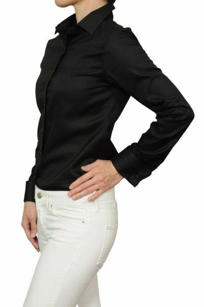 レディースシャツ ブラウス 6066-J06-2-BLACK-