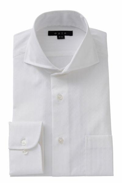 ワイシャツ ストレッチ 8070-A06A-WHITE