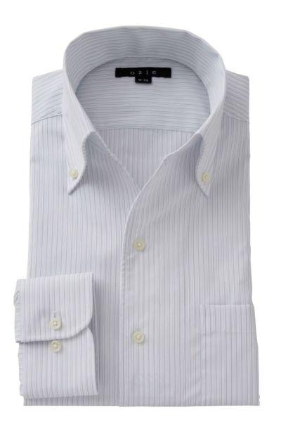 ワイシャツ ストレッチ 8044-A06B-GRAY