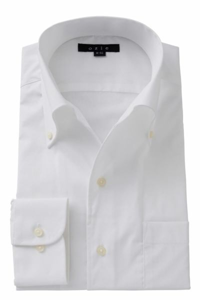 ワイシャツ ストレッチ 8051-A06A-WHITE