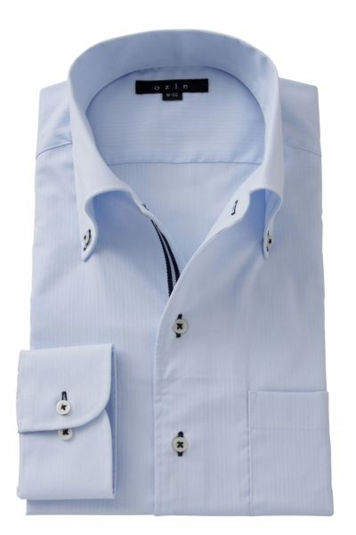 ワイシャツ ストレッチ 8051T-A06A-SAX
