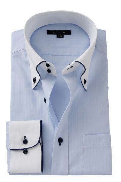 ワイシャツ ストレッチ 8065EPCL-A06A-SAX