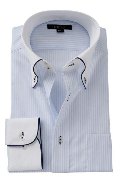 ワイシャツ ストレッチ 8065EPCL-A06B-SAX