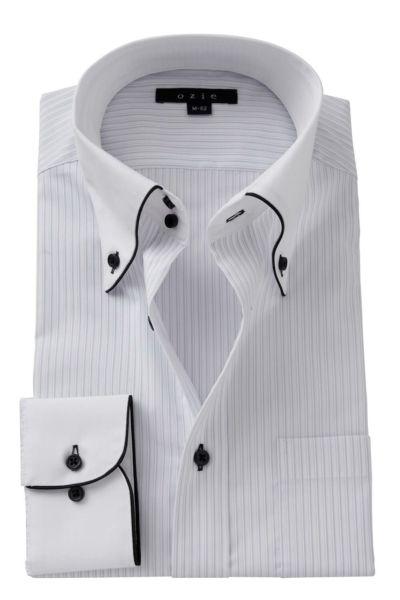 ワイシャツ ストレッチ 8065EPCL-A06C-GRY