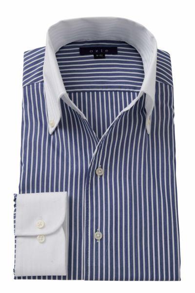 ワイシャツ 8044CL-A07A-NAVY
