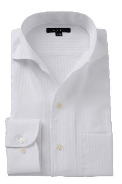 ワイシャツ 8045-A07A-WHITE