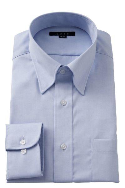 ワイシャツ 8076-E07C-SAX