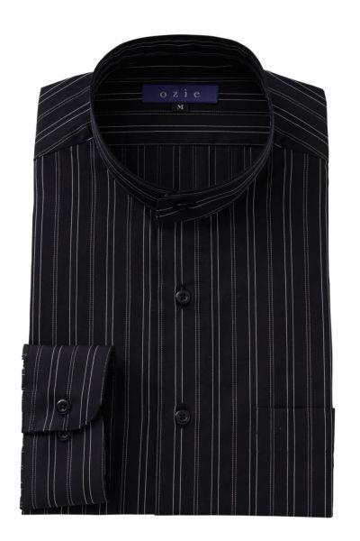 ワイシャツ 8063-A09D-BLACK
