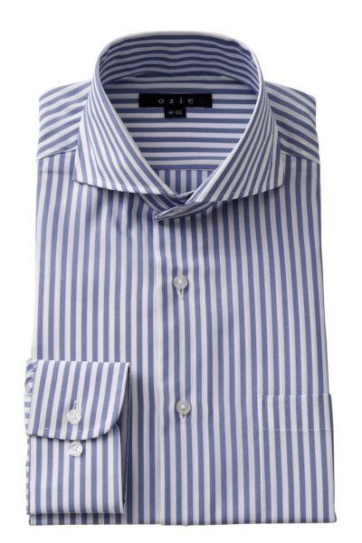 ワイシャツ 8070-A09D-BLUE