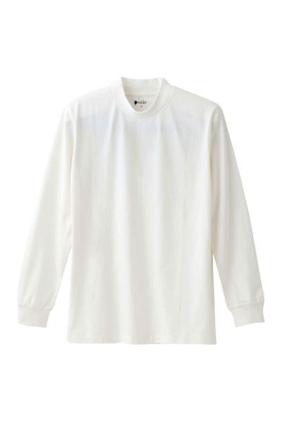 【メンズ・Tシャツ】長袖・綿100%・プレミアムコットン・度詰め天竺ニット・丸首・クルーネック